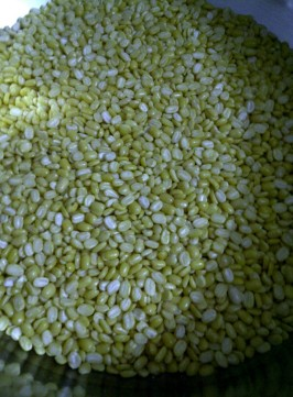 Raw Moong Dal